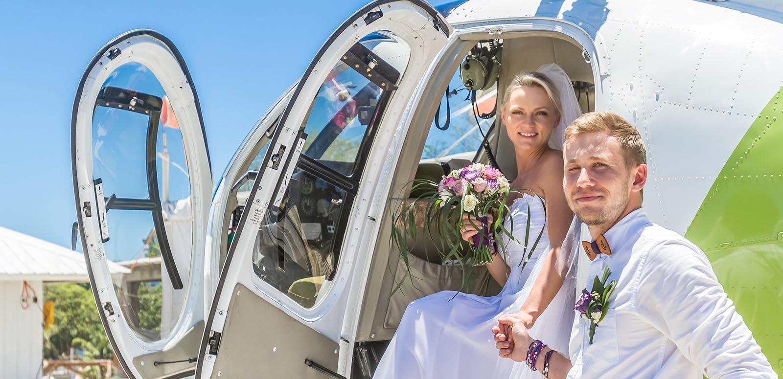 Vi har helikoptertaxi i Mälardalen