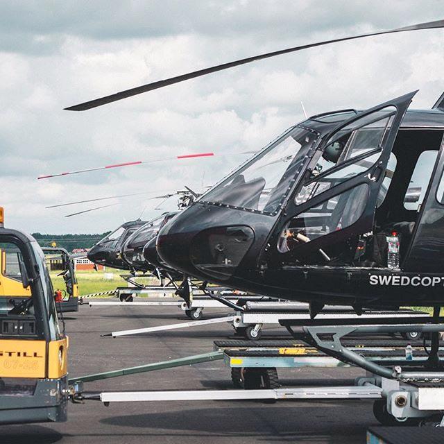 Vi har helikoptertaxi i Stockholm
