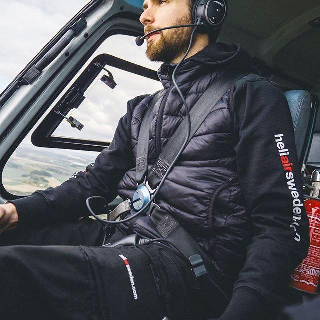 Vi arbetar med helikopter i Stockholm
