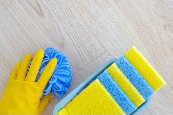 redo att städa