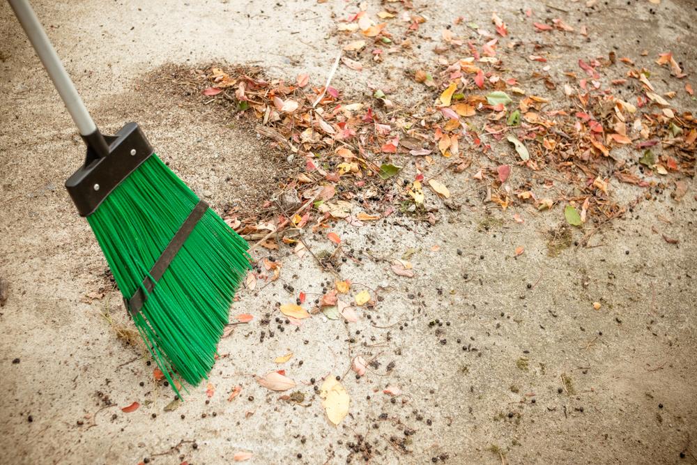 städning utomhus