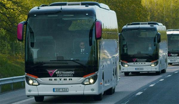 hyra buss dalarna