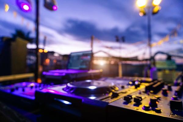 DJ utomhus