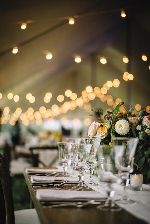 Brölloppsdukning