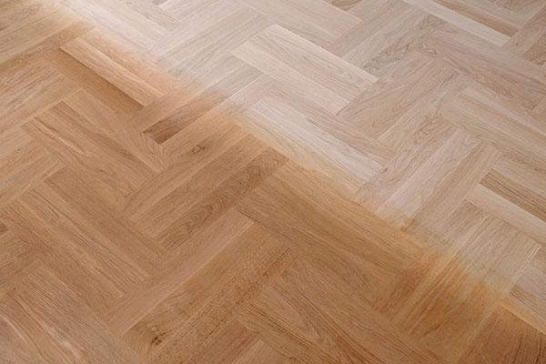 golvet känns som nytt efter slipning på Lidingö