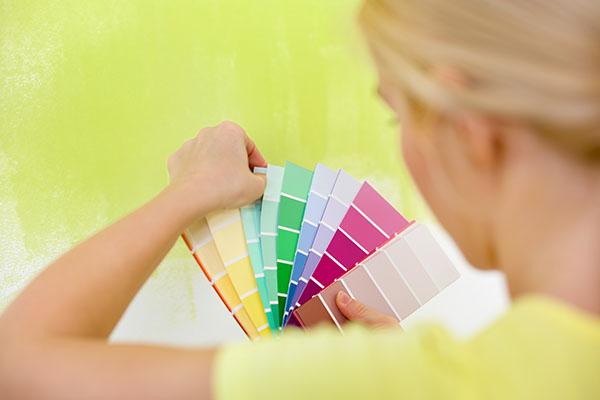 Färgval är viktigt vid målning i Sollentuna
