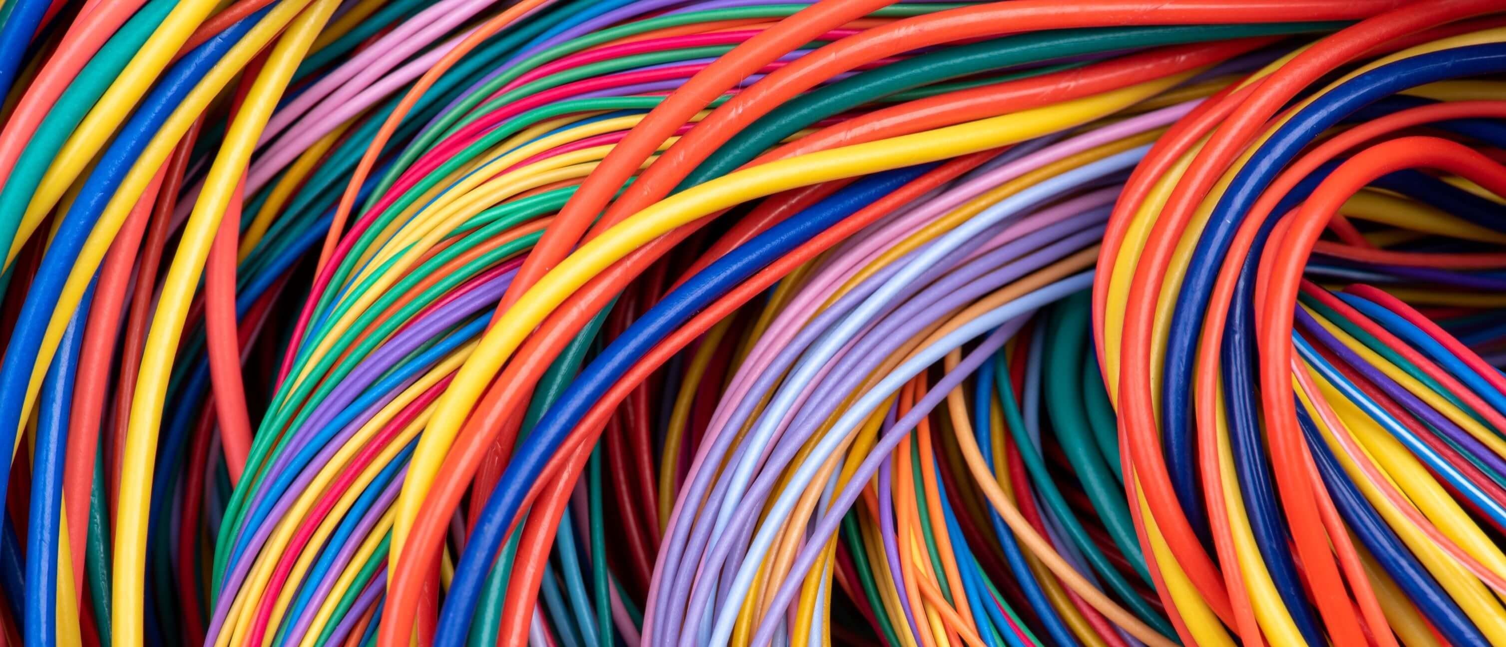 Kabelskrot blir nya kablar