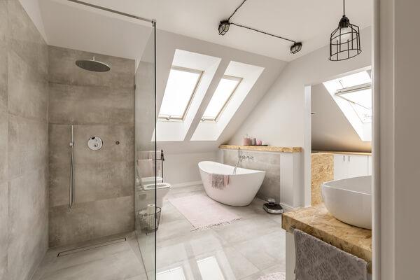 Vacker badrum