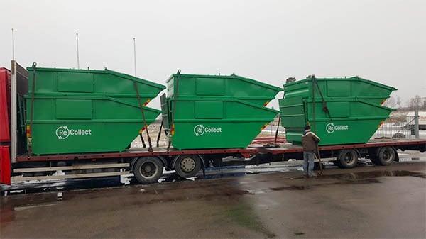 lyftdumper container