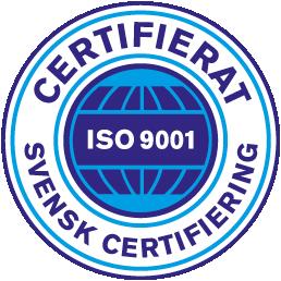 Vår låssmed i Stockholm är också certifierade enligt 14001.