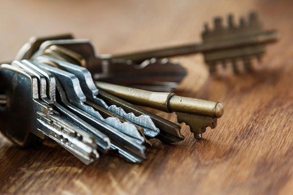 borttappad nyckelknippa få hjälp av låssmed Kungsholmen