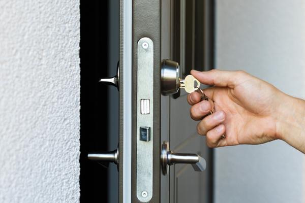 lås med nyckel