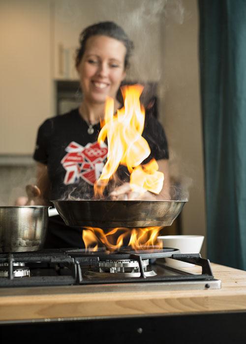 Matmästarna brinner för matlagning