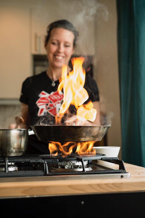 omsorgsfullt lagat lunchmat i Södertälje