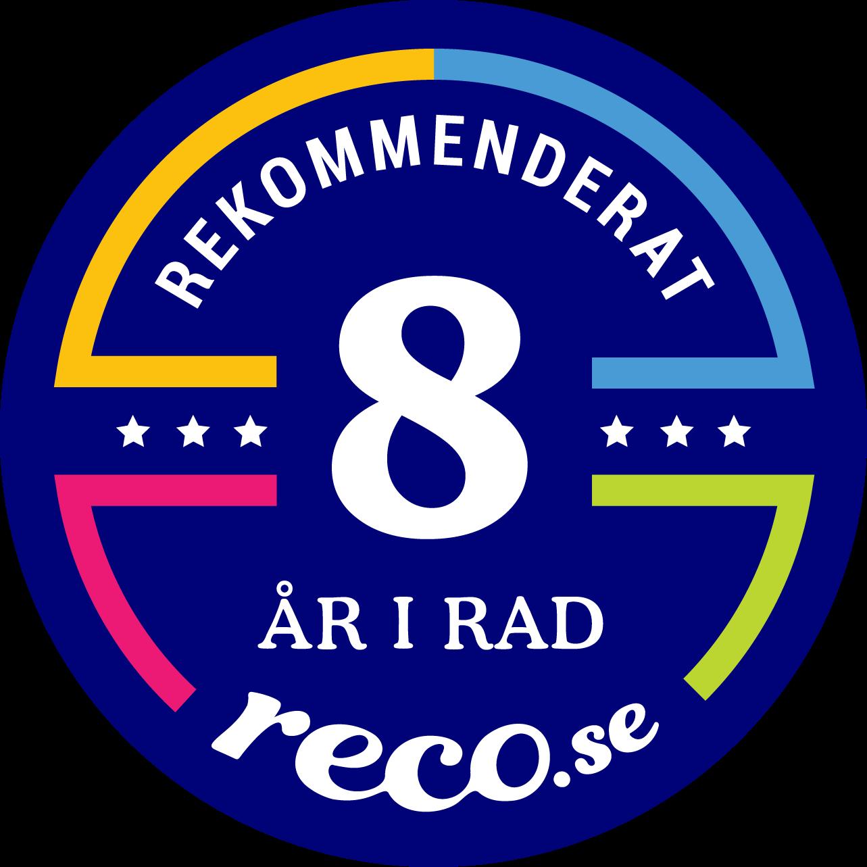 Rekommenderade mäklare i Karlstad för 8:e året i rad enligt reco
