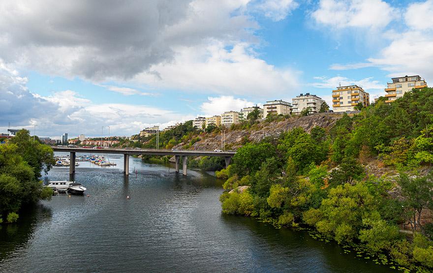 Lägenhetshus i Fredhäll på Kungsholmen – en av våra mäklare på Kungsholmens pärlor..