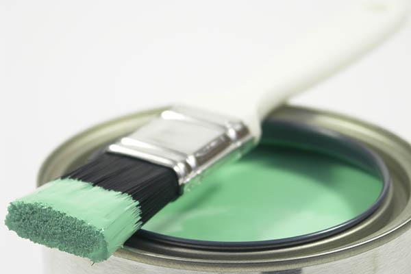 grön färg målare uppsala
