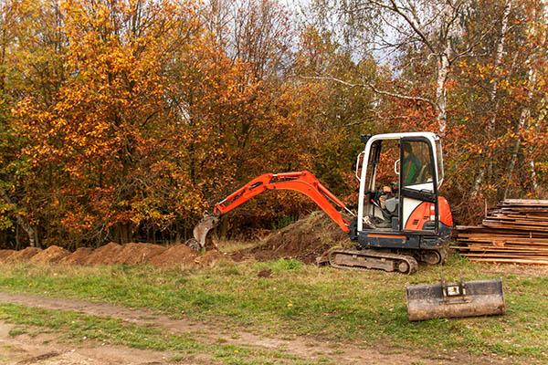 markarbete trädgård Helsingborg