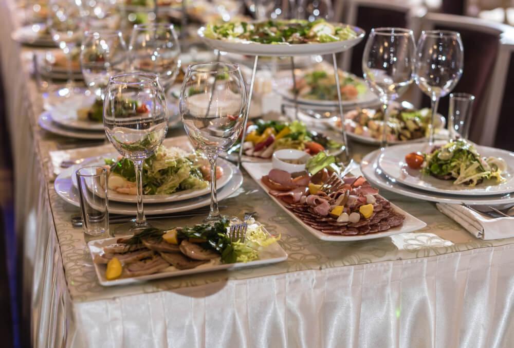 dukat middagsbord