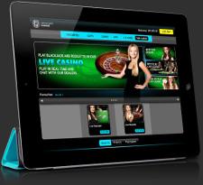 Live Dealer Casino på iPad