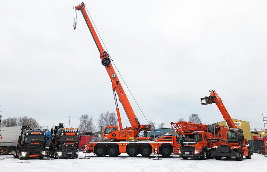 Östgöta Mobilkranar erbjuder tjänster inom kranlyft och transporter med alla slags mobilkran i Östergötland.