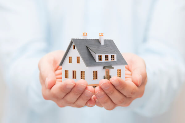 Ett hus i handen