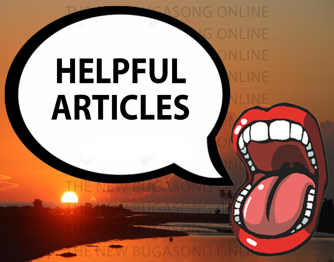 Helpful Articles