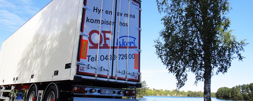 Hyra lastbilssläp Örebro & Jönköping