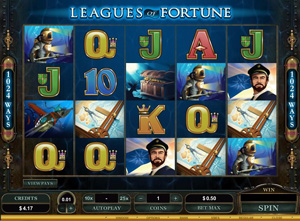 League of Fortune Spielautomat