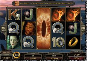 Gewinn Screenshot vom Lord of the Rings