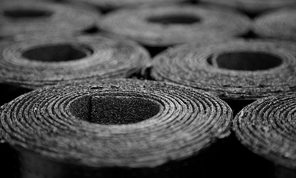asfaltspapp på rulle