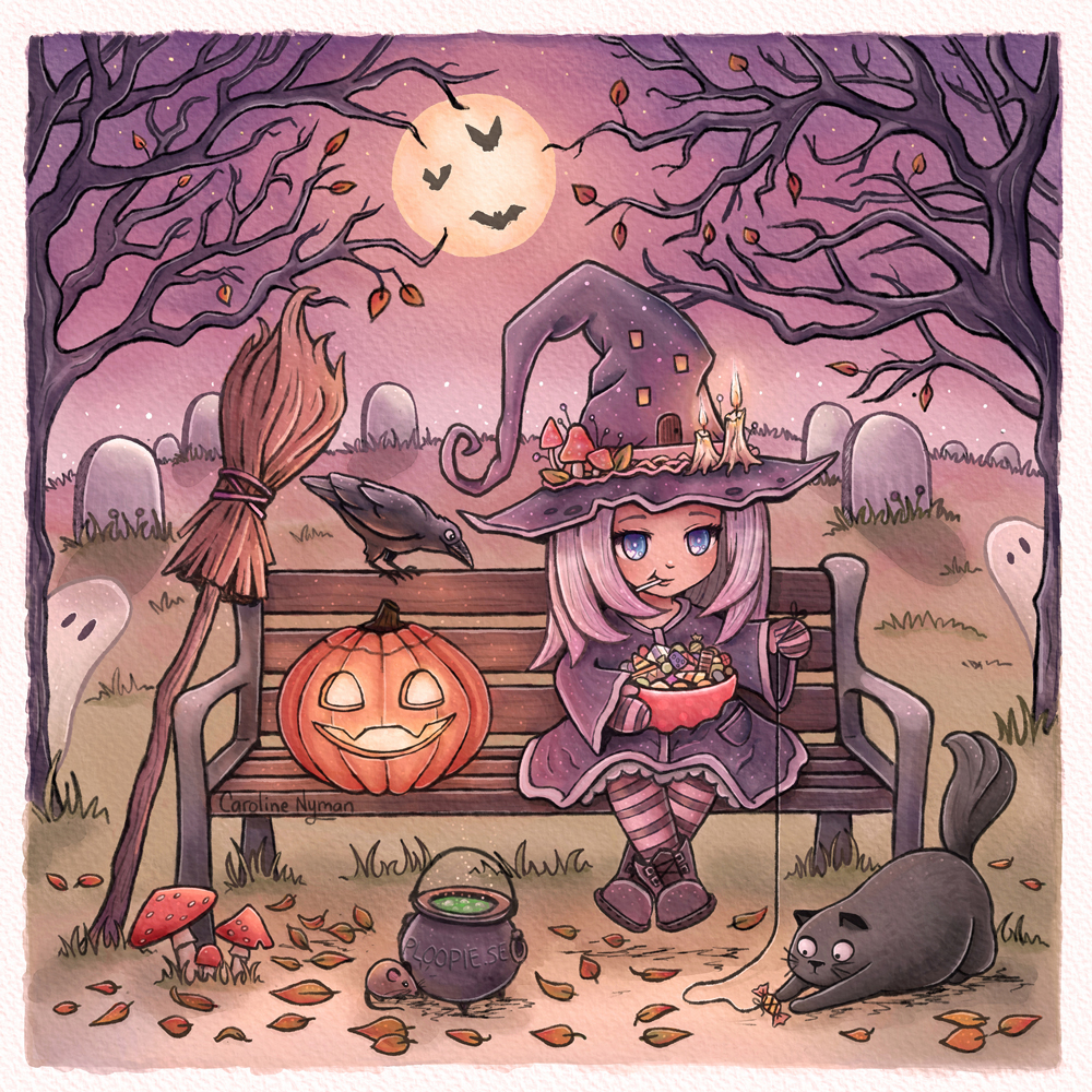 Happy Halloween by Caroline Nyman