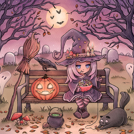 Happy Halloween by Caroline Nyman