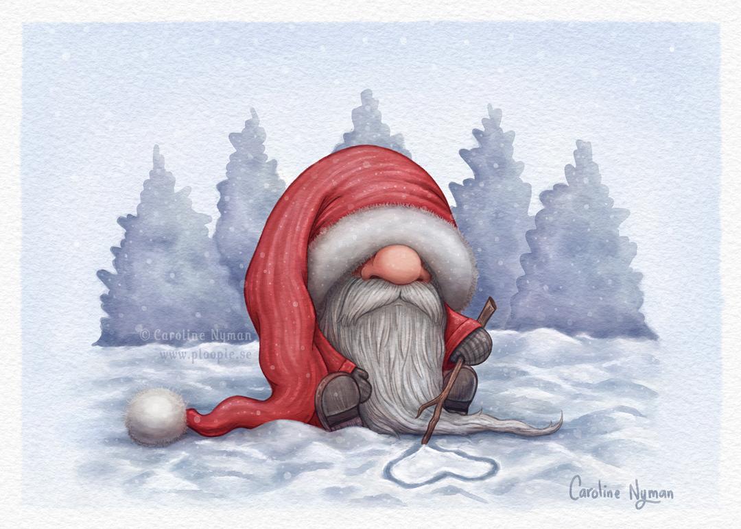 Lonely Little Santa by Caroline Nyman