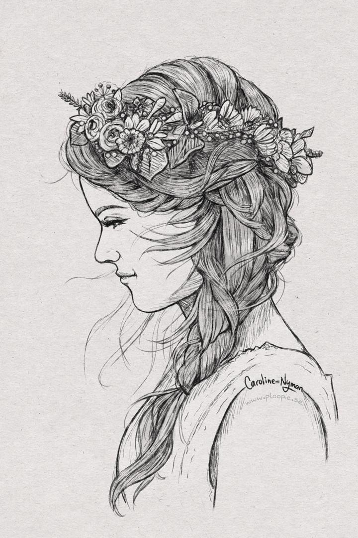 Midsummer girl by Caroline Nyman