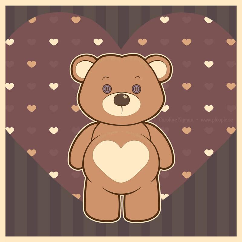 Valentine Teddie