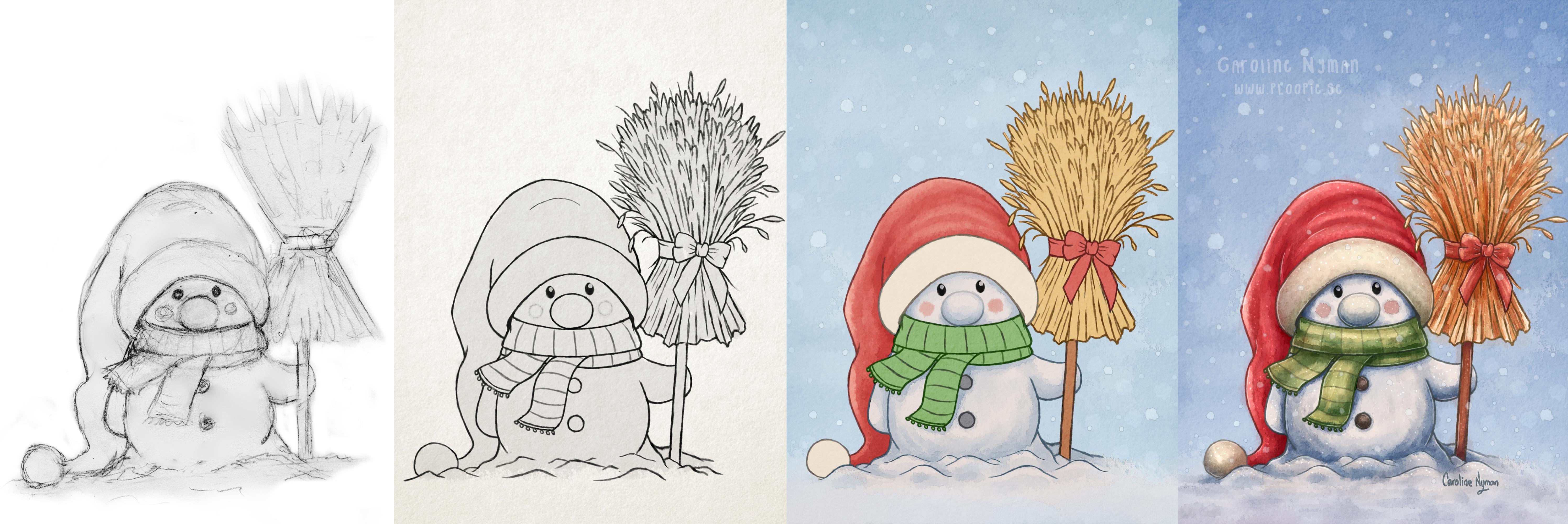 A Little Snowman process