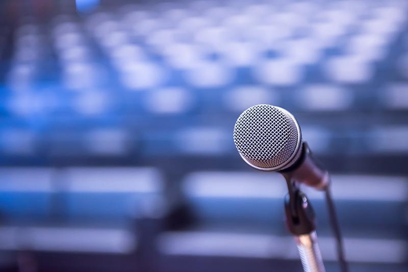 mikrofon i sal