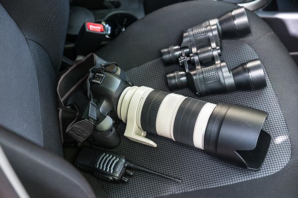 utrustning för detektivarbete