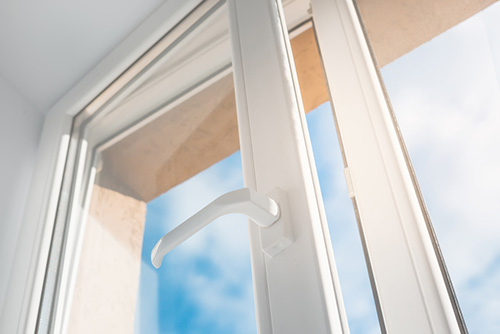 Nyinstallerat pvc-fönster