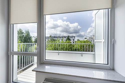Nya pvc-fönster
