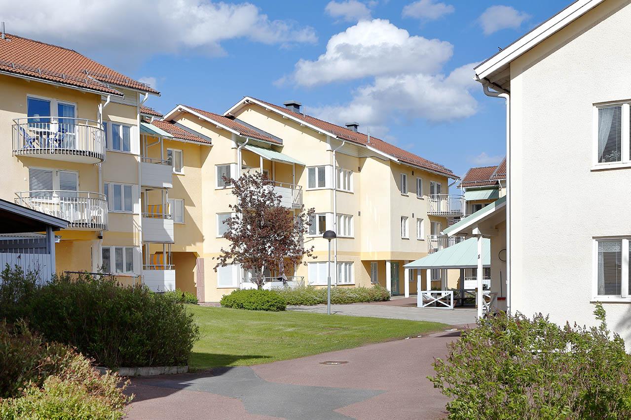 Vi utför även radonmätning i Gävle som här i flerbostadshus.