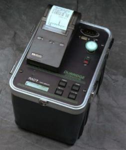 instrument för radonsanering