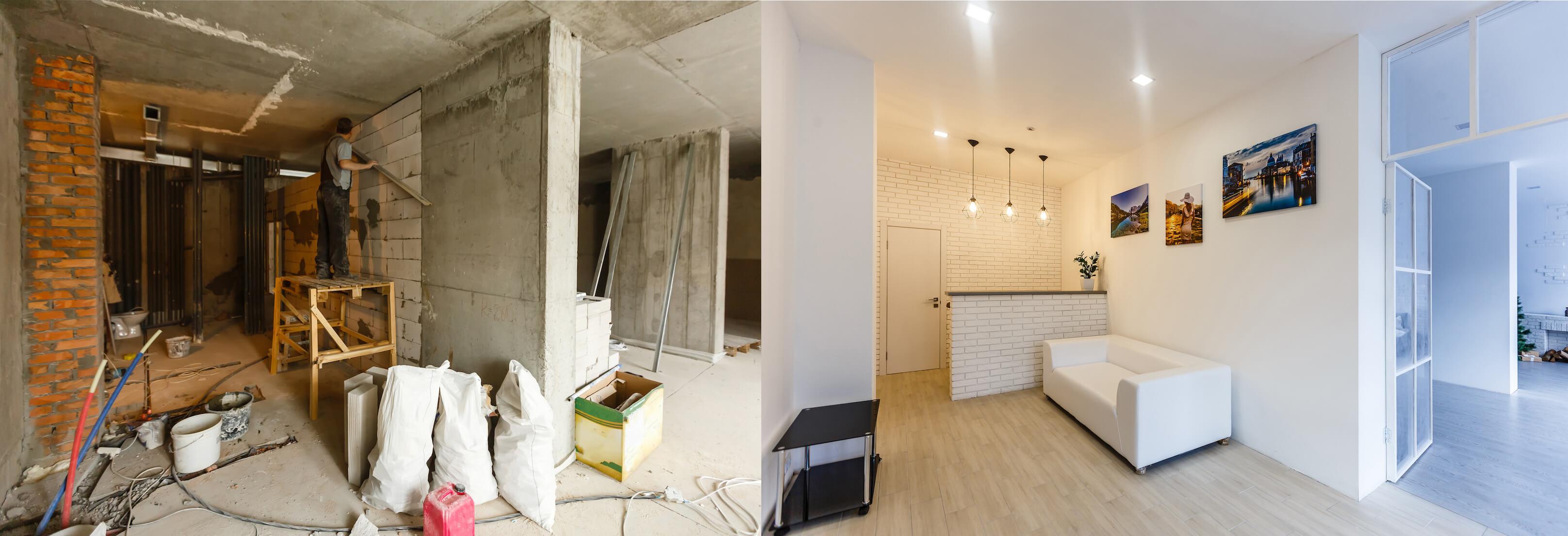 Vi renoverar hus i Uppsala