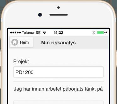 Riskanalys - en app från 21st Century Mobile
