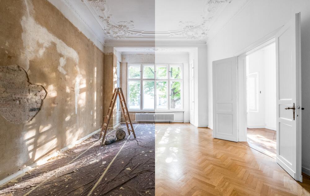 renovering i bostad