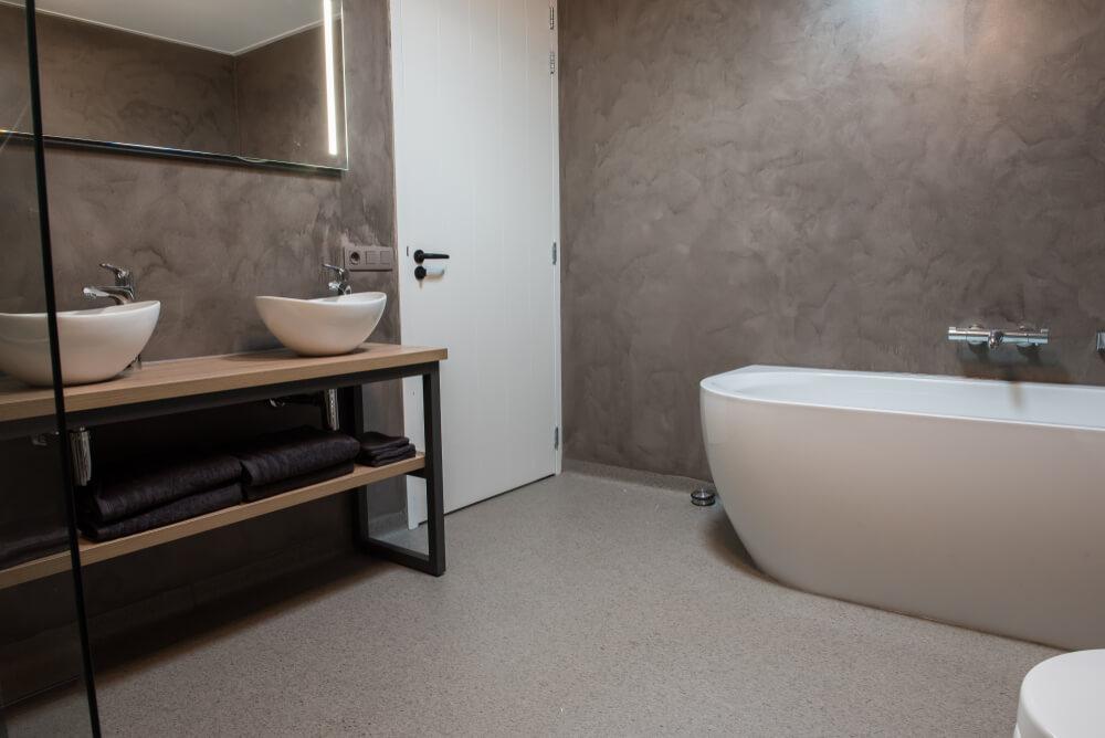matta i badrum