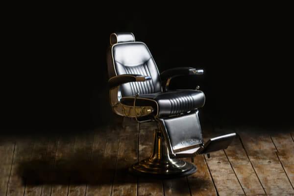frisör salong stol
