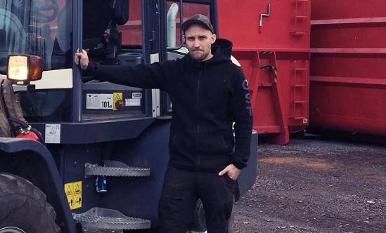 Pierre Johansson är gårdsanvarqig inköpare