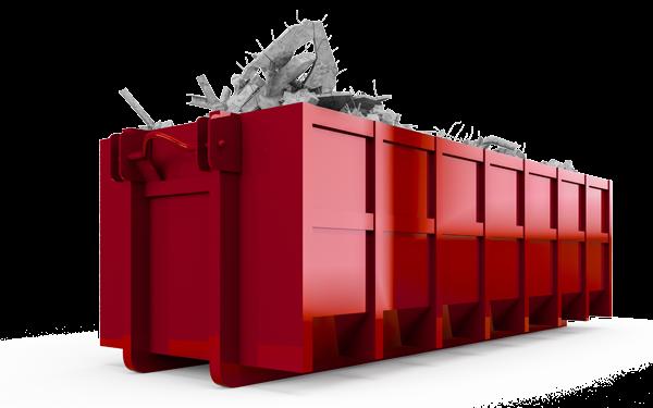 SMOAAB byggcontainer avfallshantering